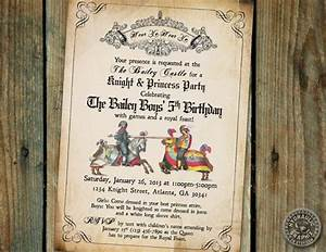 disney princess party invitations printable knight birthday party invitation printable medieval times