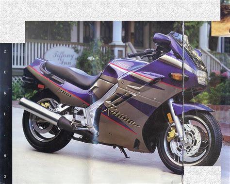 93 Suzuki Katana by Suzuki Gsx1100f Brochures