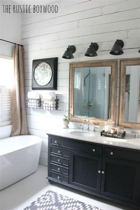 Modern Rustic Bathroom Accessories by Farmhouse Decor Ideas For The Bathroom Interiors