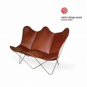 Butterfly Chair Original : butterfly twin chair leder tabakbraun weinbaums ~ Sanjose-hotels-ca.com Haus und Dekorationen