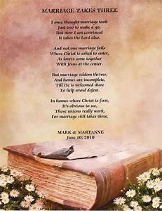 Christian poem ... Wedding Spiritual Quotes