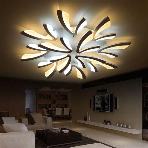 led house lights for sale modern dimmable led living room ceiling light large