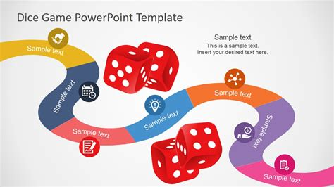 board game powerpoint template slidemodel