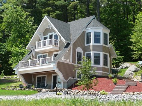 chalet style house plans  homes swiss chalet house plans narrow lakefront home plans