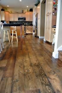 kitchen wood flooring ideas 20 stunning rustic wood flooring for many kinds of home designs