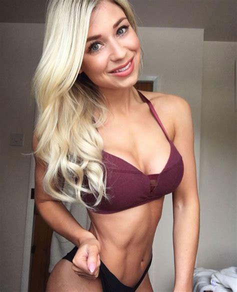chubby woman transformed  bikini bodybuilder