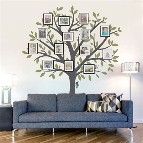 Family Tree Wall Decal Tree Wall Sticker Nature Wall Decal