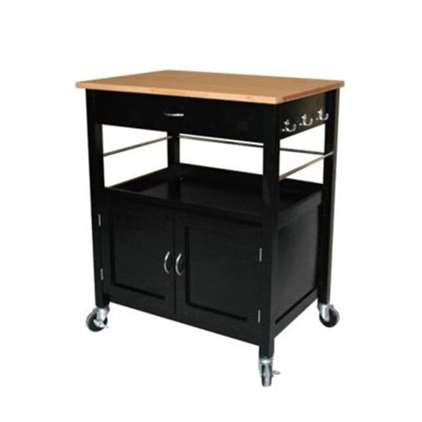Kitchen Island Or Cart Ehemco Kitchen Island Cart With Butcher Block Bamboo Top Reviews Wayfair