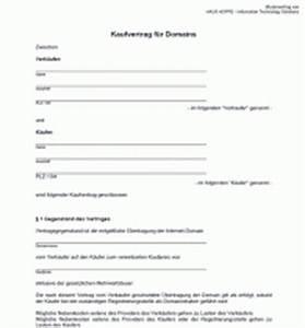 Vorläufiger Kaufvertrag Haus Vorlage : domain kaufvertrag zum ausdrucken kostenlose vorlage ~ Orissabook.com Haus und Dekorationen