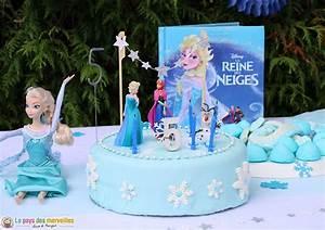 Gateau Anniversaire Reine Des Neiges : cet anniversaire reine des neiges qu 39 elle attendait tant ~ Melissatoandfro.com Idées de Décoration