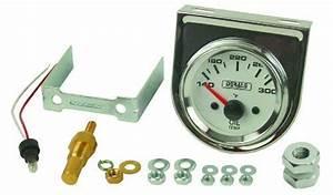 Derale 13009 Oil Temperature Gauge Kit Derale