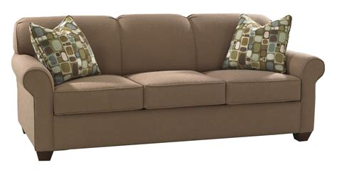 Sleeper Sofa With Memory Foam by Klaussner Mayhew Enso Memory Foam Sleeper Sofa