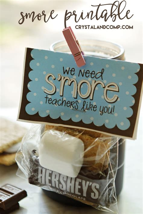 teacher appreciation smores