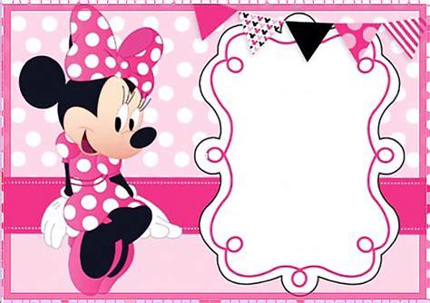 minnie mouse invitation template free printable minnie mouse invitation templates part 1