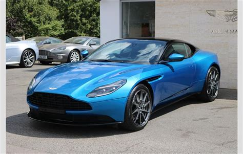 Martin Blue by Aston Martin Db11 Coupe Blue 2018 Ref 7476137