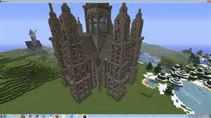 blueprints to build a house cathedral minecraft