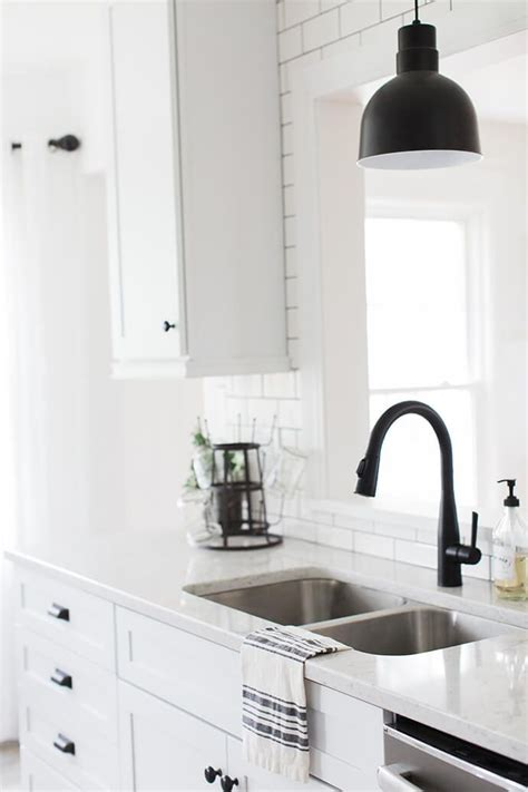 black matte hardware  add elegance   home