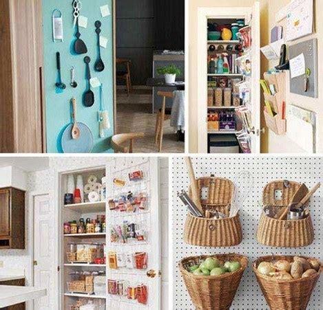 cheap kitchen organization ideas grandes soluciones para pequeños espacios espaciohogar com