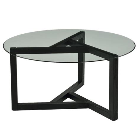 Rustic woodland coffee table with36 x 36 table top features a modern style wrought iron base that is available in 4 custom finish options and your choice of a copper, zinc, glass, marble, or wood table top. Modern Design Round Glass Coffee Table Living Room Table Tempered Glass Top & Wood Base Cocktail ...