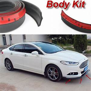 Ford Focus St Bodykit : for ford for focus st car bumper lip deflector lips ~ Kayakingforconservation.com Haus und Dekorationen