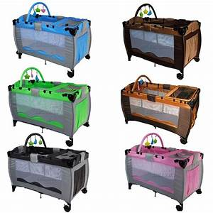 New Portable Child Baby Travel Cot Bed Bassinet Playpen ...