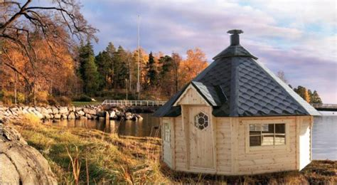 chalet finlandais en kit kota grill mega mathilda kota grill kota sauna pod