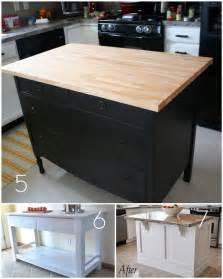 diy island kitchen roundup 12 diy kitchen tables islands and cupboards you