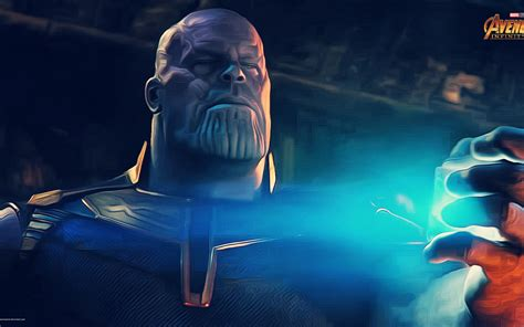 Wallpaper Thanos Avengers Infinity War Movies 12821