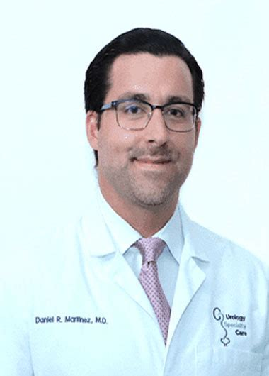 They have also lived in colorado springs, co and glendale, az. Daniel Martinez, MD   Urology Specialty Care of Miami