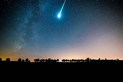 Meteor Earth Shower Star Strike Meteors Another