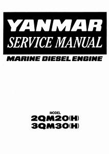 Yanmar 3qm30 Marine Diesel Engine Service Repair Manual