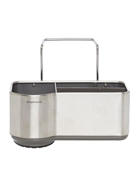 Simplehuman Sink Caddy by Simplehuman Stainless Steel Sink Caddy House Of Fraser