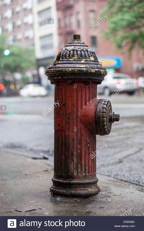 york city fire hydrant   avenue stock photo alamy