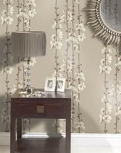Tapeten Wohnzimmer Ideen 2014 : 85 wohnzimmer tapeten ideen florale und barock muster ~ Bigdaddyawards.com Haus und Dekorationen