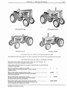 John Deere 320 330 Parts Catalog For Tractors