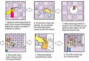 shower cleaning guideline With bathroom cleaning procedure