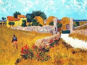 Un Mas En Provence : vincent van gogh post impressionism arles un mas de ~ Farleysfitness.com Idées de Décoration