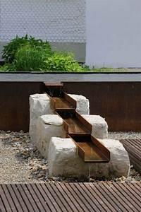 Metall Im Garten : gestalten mit holz metall naturstein herrhammer ~ Lizthompson.info Haus und Dekorationen