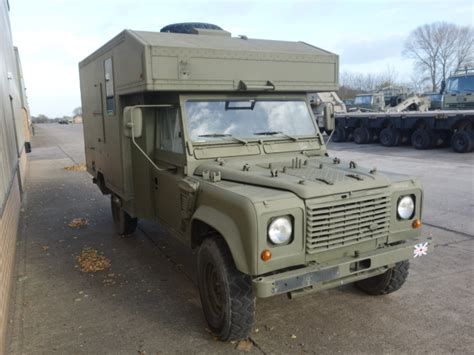 land rover military defender land rover 130 defender wolf lhd ambulance ex military for