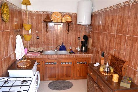 cuisine marocaine traditionnelle appartement meublé à louer essaouira maroc