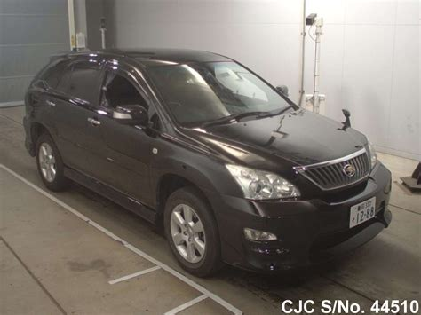 2011 toyota harrier black for sale stock no 44510 used cars exporter
