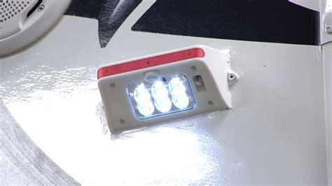 led rv porch light install mountable solar powered