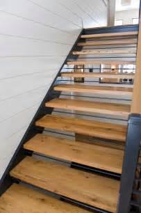 Reclaimed Longleaf Pine Flooring by Longleaf Lumber Reclaimed White Oak Stair Treads