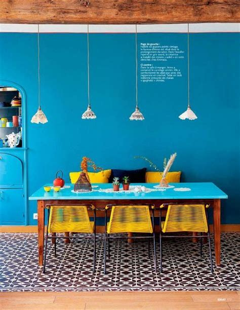 cuisine blanche et bleue cuisine bleu 25 idées déco cuisine bleue