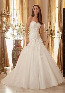 crystal beaded alencon lace appliques on organza wedding With beaded organza wedding dress