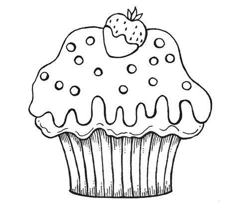 coloring pages cupcake printables coloring home