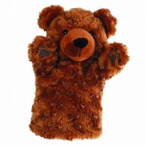 Marionnette à Main : marionnette ours brun main pour enfant 25cm ~ Teatrodelosmanantiales.com Idées de Décoration