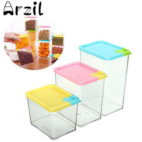 box cuisine 530 800 1070ml kitchen food storage box cereal grain bean