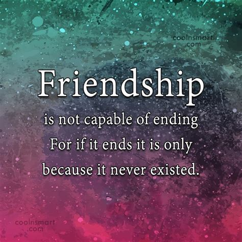 Friendship Never Ending Quotes