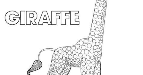 tinga tinga tales black  white picture  giraffe